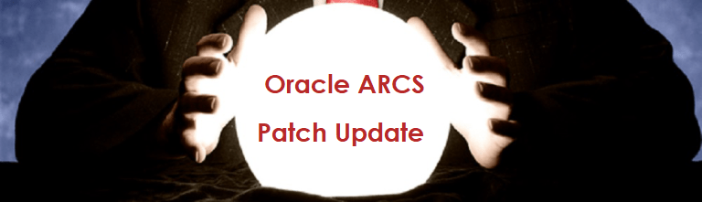 Gazing into the Crystal Ball: Oracle's ARCS Patch 1812 and Patch